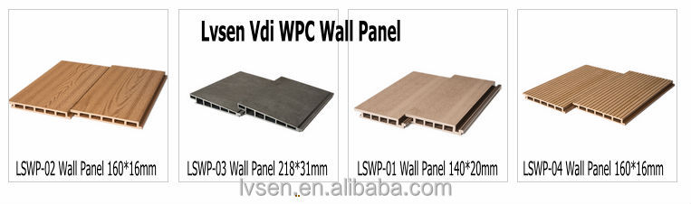 Low price! outdoor wood plastic composite WPC hollow floor for balcony