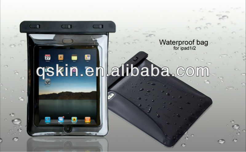 Factory Wholesale waterproof swimming bag for ipad/ipad mini
