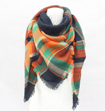 Winter Women Thick Warm Wool Spinning Scarves Loop Scarf Shawl Wraps