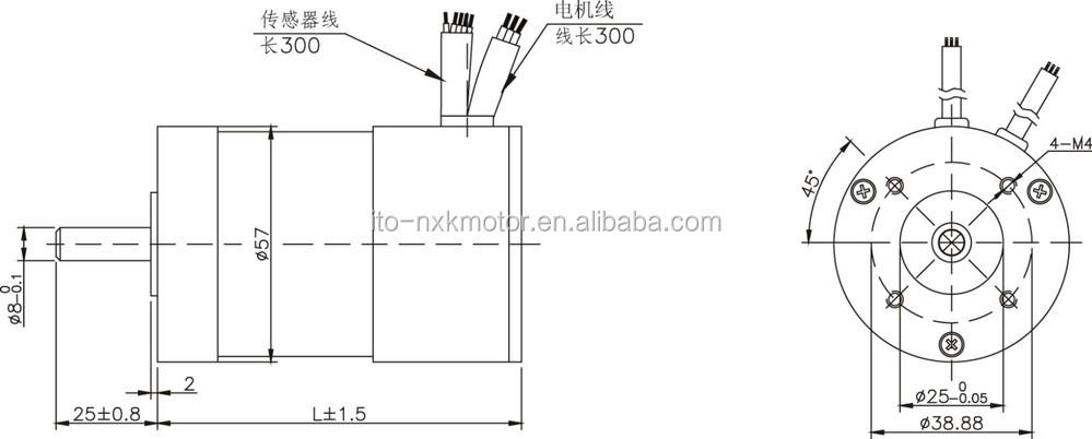 Brushless micro dc motor 24v 3000rpm bldc motor dimensions for 12v bldc motor specifications