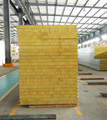 2018 innovative fireproof rock wool sandwich panels for all steel building