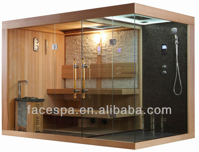 Steam shower combined saunas high end furniture for house design