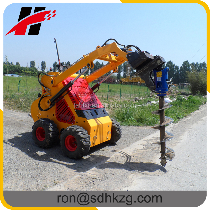 2016 China new mini digger, direct drive post hole digger/auger
