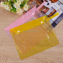 Waterproof high quality swimming pvc small zipper bag