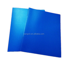 2016 Hot selling good quality PP material a4 size new design file folder with metal spring clip