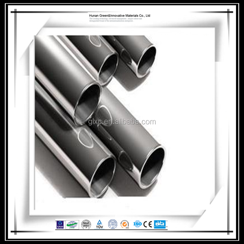 Manufacture Super Duplex Stainless Steel pipe 316 ss welded tubing ISO certification
