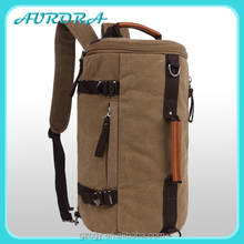 Wholesale Guangzhou 3 ways canvas backpack manufacturers china