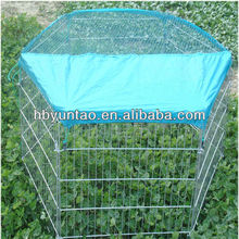 Galvanized dog cages with long life