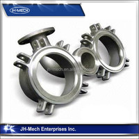 SS304 SS316 Stainless Steel Investment Casting High Melting Point Wax
