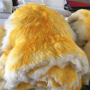 China Factory High Quality 100% sheepskin fur rugs and carpets