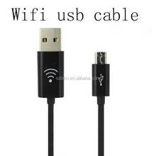 2015New desigh multi-function wifi data micro usb cable for samsung mobile phone