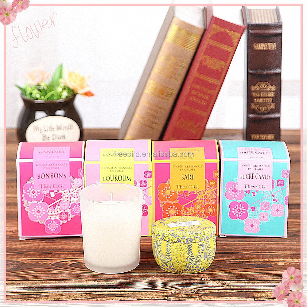 Decorative Scented Soy Home Candle