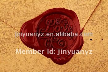 The hot selling and new fashion style special Custom wax seal stamp