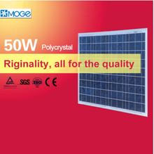 Moge polycrystal 50w solar panel kit for air conditioner in pakistan lahore