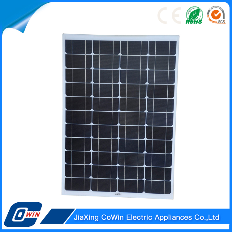 Famous Brand Good Quality Achieve High Efficiency 50W Solar Energy Power Photovoltaic Panel
