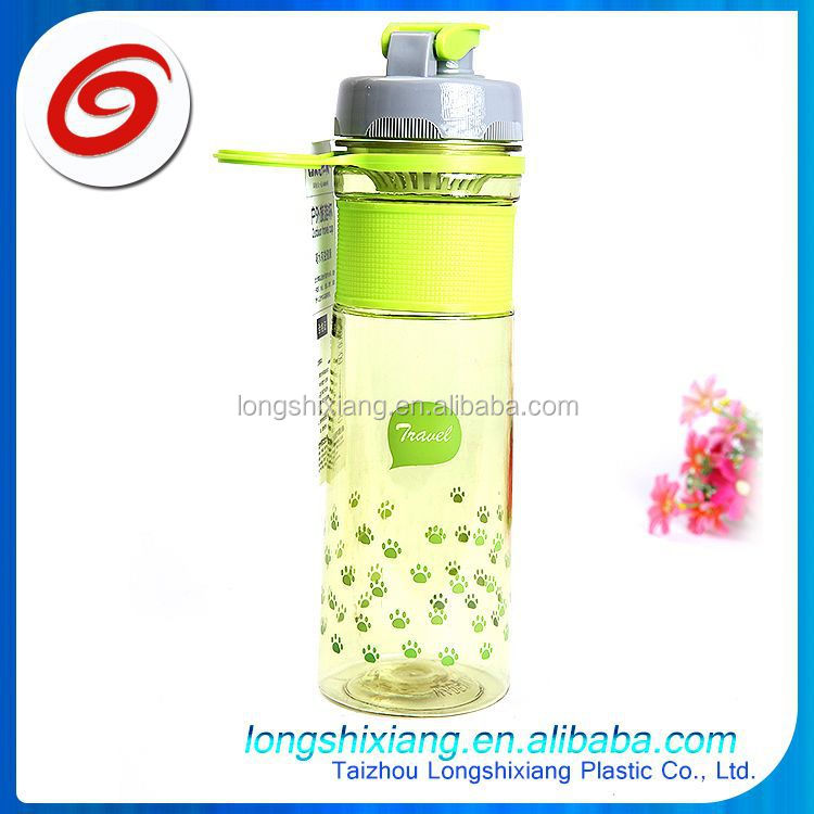 2015 water bottle in different shapes,plastic water bottle tea infuser,bpa free plastic shaker bottles