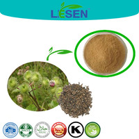 Arctium Lappa Extract, Fructus Arctii, Arctiin 10%-20%, Clearing heat and detoxicating