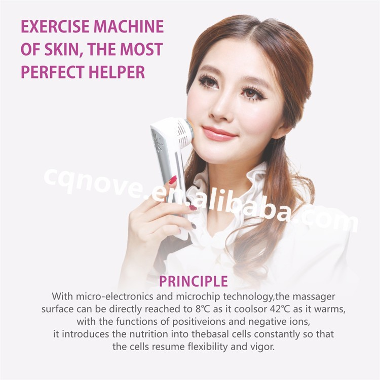 2016 Skin Care Sonic Vibrate Ionic cool hot hammer Sonic Vibrate Ionic beaty cool hot skin care beauty instrument