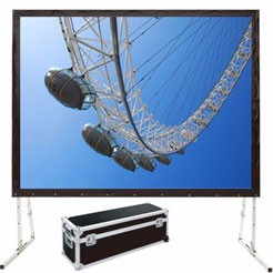 300 inches Portable projection screen fabric fast fold projection screen