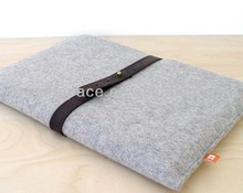 2018 hot sell new customized high quality sleeve case wholesale fashion cheap felt neoprene laptop computer bag made in China