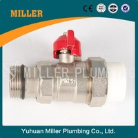 Selling well all over the world 2way DN40 cw617n brass ball valve