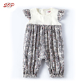 Newborn baby clothes printed toddlers babysuit short sleeve baby romper