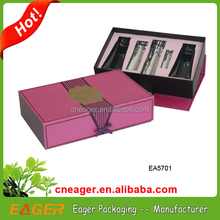 Custom printed beauty cosmetic boxes, hot sale small cosmetic cardboard boxes
