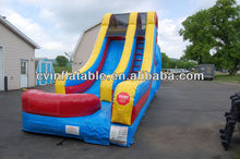 classical inflatable water silde/inflatable castle with water slide
