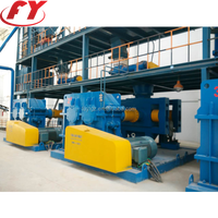 High pressure physical compaction twin roller granulator without changing chemical compostion