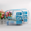 PVC Clear Transparent Case Cosmetic Makeup Bag Toiletry Travel Zipper