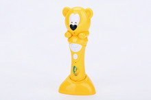 cheap price lovely smart bear digital talking pen , point reading pen for english learning