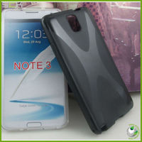 For Samsung galaxy note 3 tpu case cover s line soft tpu skin housing