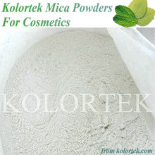 Silky White Mica Powders Used for Cosmetics