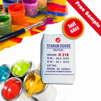 dioxyde de titane R218 oil based exterior wall paint and coatings