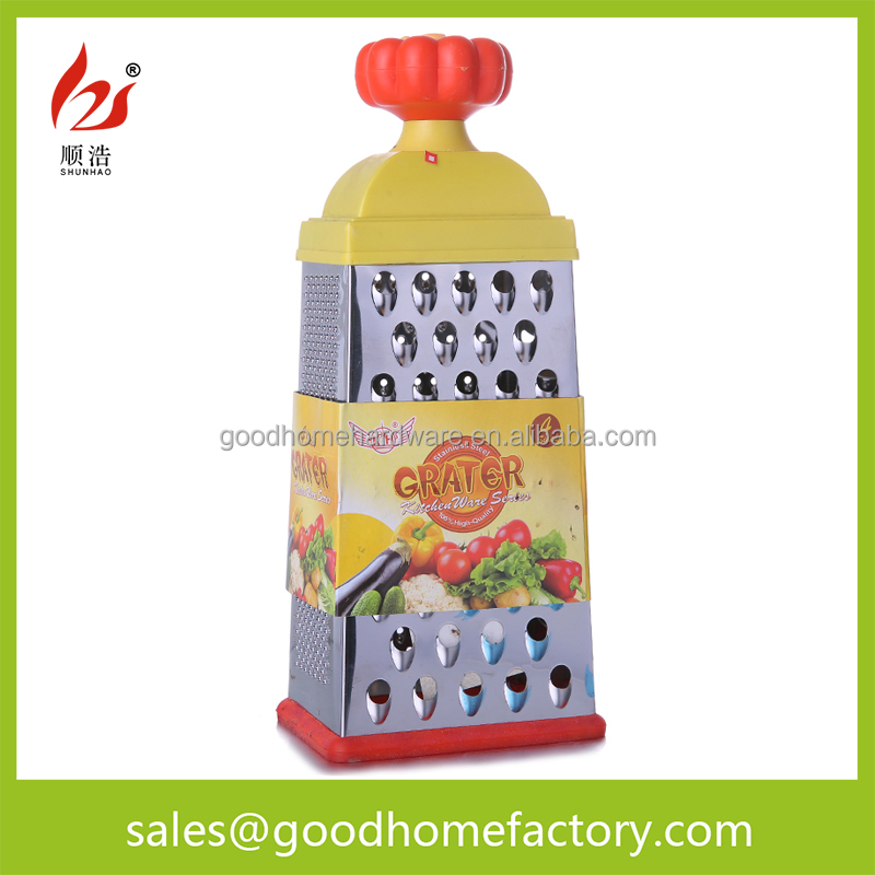 Multi-Sided Stainless Steel Box Kitchen Vegetable Grater