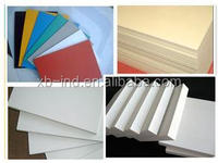 PVC decorative ceiling/10mm pvc foam board/forex sheet 1220*2440mm