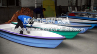 fiberglass boat fishing boat with paddle