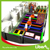 With Rope Course Colorful Rectangle Trampolines