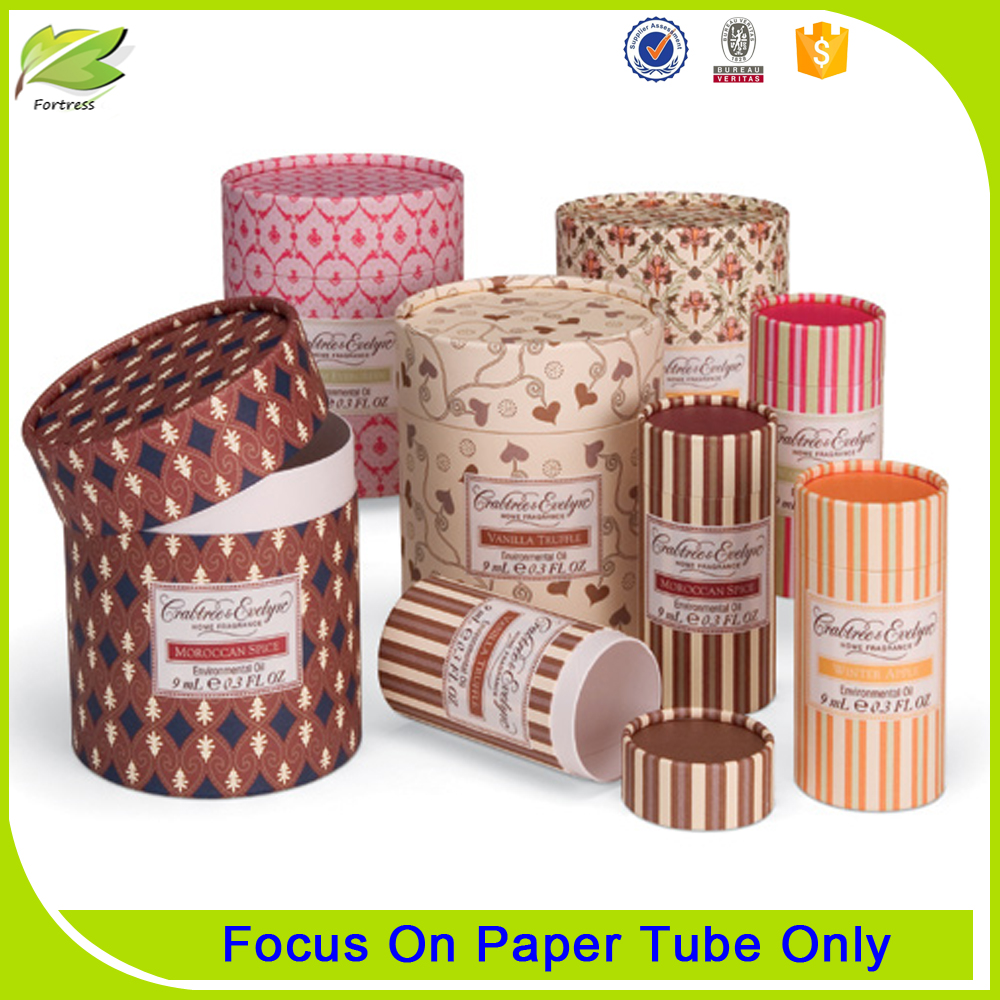 Fancy design handmade paper core