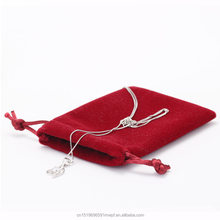 Small Velvet Pouch for Jewelry Pouch