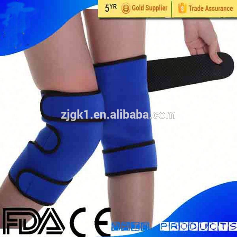 Magnetic fabric free size knee sleeve health care knee pad