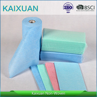[FACTORY] Super absorbent cleaning cloth/lightweight nonwoven fabric rags roll/viscose cleaning kitchen cloth