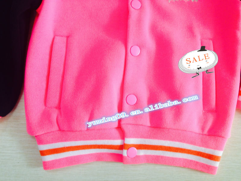 fashion and hot kids baseball jackets