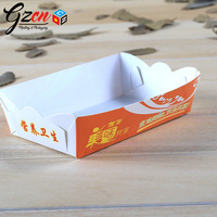 customs print food grade for packing fried chicken paper box