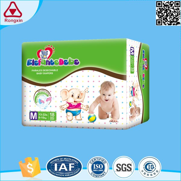 100% soft Eco-Friendly adult sized baby diaper