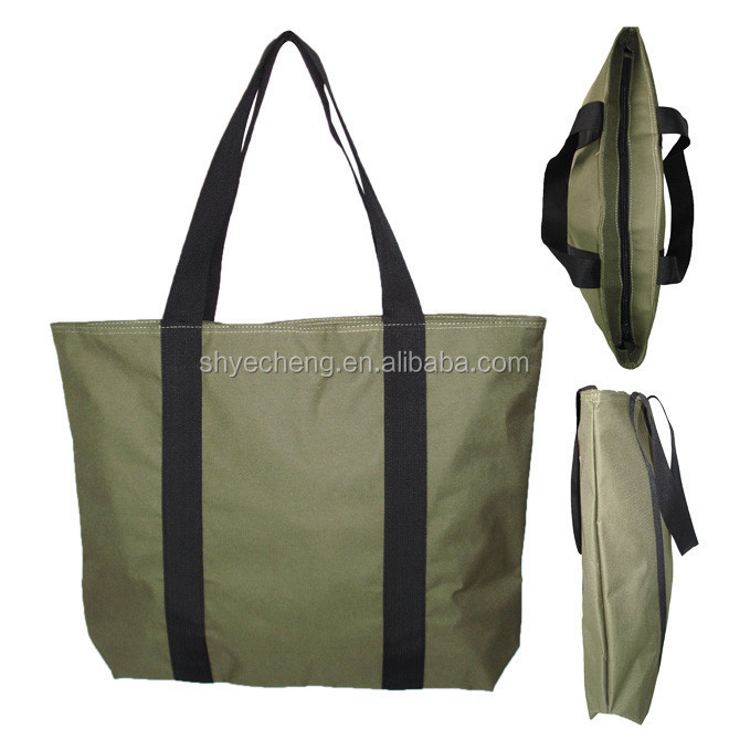 polyester long handle shopping bag manufacturer and exporter (YC7992)