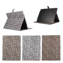 Fashion Leopard pattern Leather Case for iPad Pro 12.9 with wake up/sleeping function