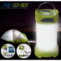 5 Mode Mobilephone Charger Rechargeable Camping Lantern Emergency Light