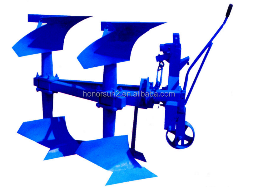 high quality agricultural machinery turnover plow with farm tractor