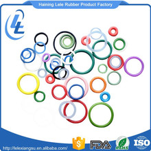 Flat rubber o ring supplier / viton silicone / NBR / epdm o-ring factory